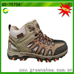 Climbing Lace Fashion Coll Hiking Boots pictures & photos