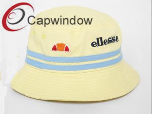 Yellow Fashion Lovely Leisure Summer Unisex Fisherman Bucket Hat pictures & photos