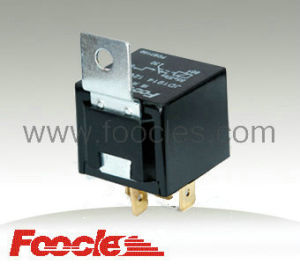 Automotive Relay with Metal Tab