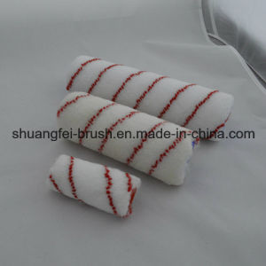 Pile 12mm Red Stripe Nylon Paint Roller for All Painting pictures & photos