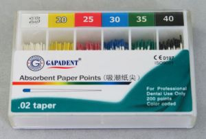 Gapadent Absorbent Paper Point pictures & photos
