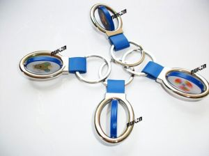 Promotional Fashion Custom 3D Plastic Keychain pictures & photos