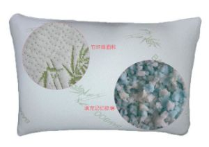 Latest OEM Natural High Quality Bamboo Memory Foam Pillows pictures & photos