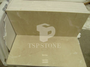 Cream Marfil Marble Tile with Competitive Price pictures & photos