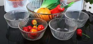 Daily-Use Clear Glass Bowl Kitchenware Tableware Kb-J0090 pictures & photos