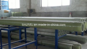 Gfrp Pipes with Sand in The Pipe Wall by Filament Winding or Continuous Winding pictures & photos