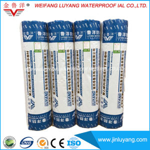 1.2mm High Polymer Polyethylene Polypropylene Fabric Composite Waterproof Membrane pictures & photos