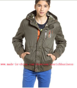 Boy′s Spring/Autumn Bomber Jacket (B04101) pictures & photos