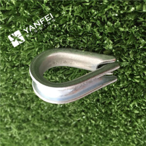 Hot Selling Us Type Marine Wire Rope Thimble with Clips pictures & photos