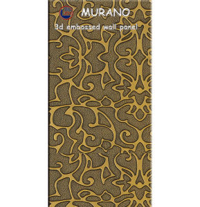 Zhihua 3D Embossed Interior Decorative MDF Wall Panel Il14 pictures & photos