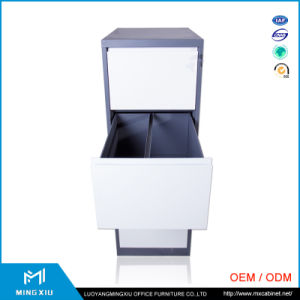 Luoyang Mingxiu Steel Office Hanging 4 Drawer File Cabinet /Office Metal Filing Cabinet pictures & photos