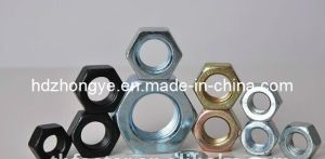 Galvanized Steel Stainless Hex Nut, DIN934 pictures & photos