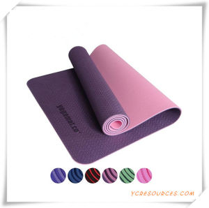 100% TPE Yoga Mat, Yoga Mat TPE, Pilates Mat for Promotion pictures & photos
