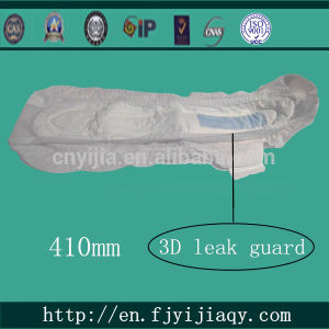 Ultra-Long 3D Leak Guard Protection Women Sanitary Napkin pictures & photos