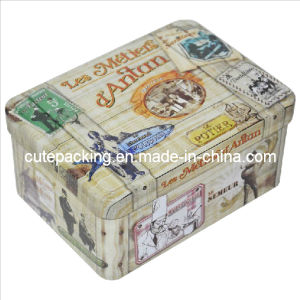 Rectangular Gift Tin Box (GTB01)