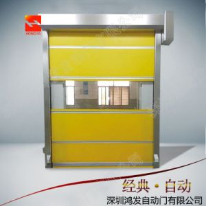 PVC Industrial High Speed Roll up Door with Ce Certification pictures & photos