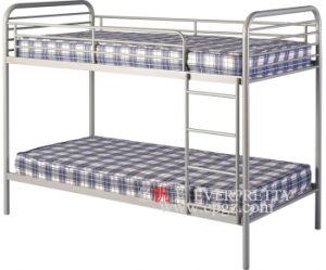 Double Steel Bunk Bed Furniture, School Dormitory Metal Beds pictures & photos