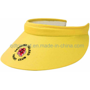 Comfortable Sweatband Long Bill Clip-on Custom Leisure Sun Visor (TRV015) pictures & photos