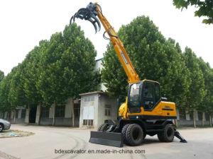Yellow 0.5m3 Bucket New Small Crawler Excavator Machine with ISO9001 Certificate pictures & photos