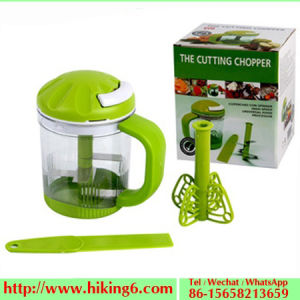 Vegetable Cutting Chopper with Sharp Blades pictures & photos