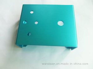 OEM Spare Part Metal Sheet Stamping Cover with Anodized Color pictures & photos