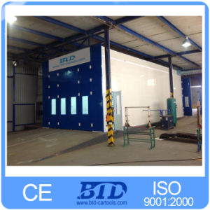Ce Approved Big Painting Room Used Bus Paint Booth German Technology pictures & photos