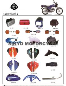Ax100 Hot Sell Popilar Motorcycle Accessories pictures & photos