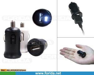 2.1AMP Output Pocket Size USB Car Charger Adapter