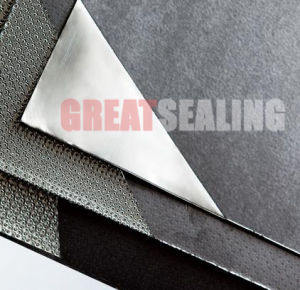 Reinforced Graphite Sheet with Metal Foil pictures & photos