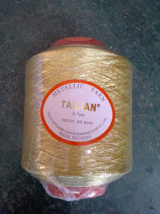 Pure Gold Lurex Yarn pictures & photos