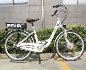En15194 Approved 26′ Lady City Electric Bicycle pictures & photos