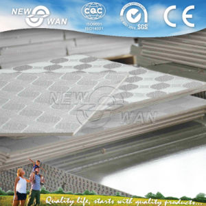 PVC Laminated Gypsum Ceiling Board with Aluminium Foil Back pictures & photos