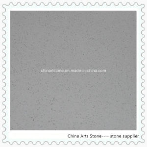 Chinese White/Grey/ Black Quartz with Mirror Chip for Vanity Tops pictures & photos