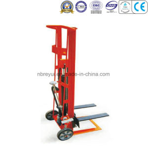 350kg (2-wheeled--Fork) Hydraulic Manual Stacker pictures & photos