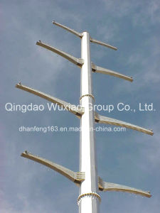 Monopole Tower for Power Transmission pictures & photos