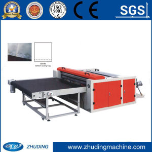 High Speed Fly Knife Type Plastic Film Cutting and Bottom Sealing Welding Bag Making Machine (WQ-DF1400F) pictures & photos