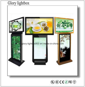 Slim FHD LED TV 46 Inch LCD Monitor Standing pictures & photos