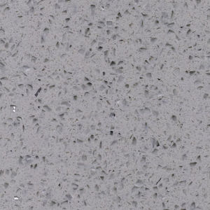 Grey Color African Coutries Quartz Stone Quartz Tile pictures & photos