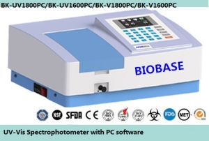 UV Spectrophotometer / Visible Spectrophotometer with PC Software pictures & photos