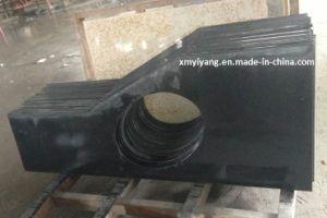 India Black Granite Countertops for Kitchen, Bathroom, Island pictures & photos