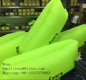 Inflatable Lounger with Side Pocket Double Sleeping Bag pictures & photos