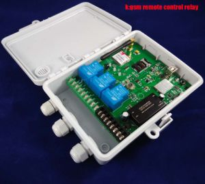 GSM Remote Control and Alarm Box (Three big power Relay Control) pictures & photos