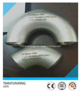 180 Deg Saf2205 Super Duplex Steel Pipe Fitting Elbow pictures & photos
