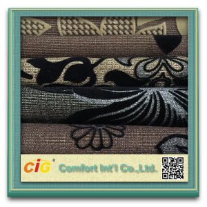 Woven Fabric with Flocking for Sofa pictures & photos
