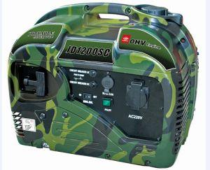 1kw / kVA Portable Gasoline Silent / 1000W Low Noise Petrol Generator pictures & photos