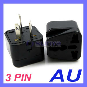 UK/Us/EU Universal to Au Australia 3 Pin Plug Adapter Power Plug Adapter Travel Converter Australia Plug pictures & photos