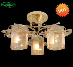 Mosaic Glass Pendant Light in Yellow Glass pictures & photos