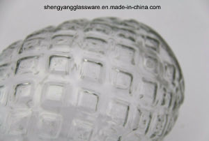Embossed Pineapple Glass Vase Household Decorative Home Decoration pictures & photos