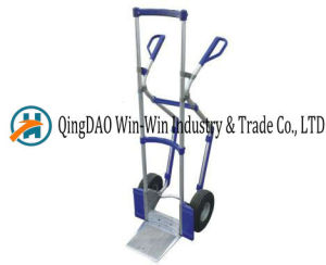 Aluminum Hand Truck Ht1888 PU Wheel pictures & photos