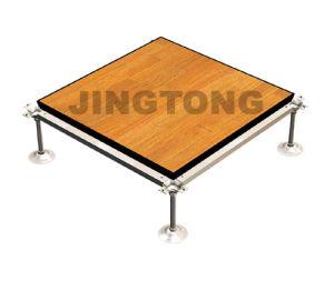 Woodgrain PVC Tile, Calcium Sulphate Raised Floor
